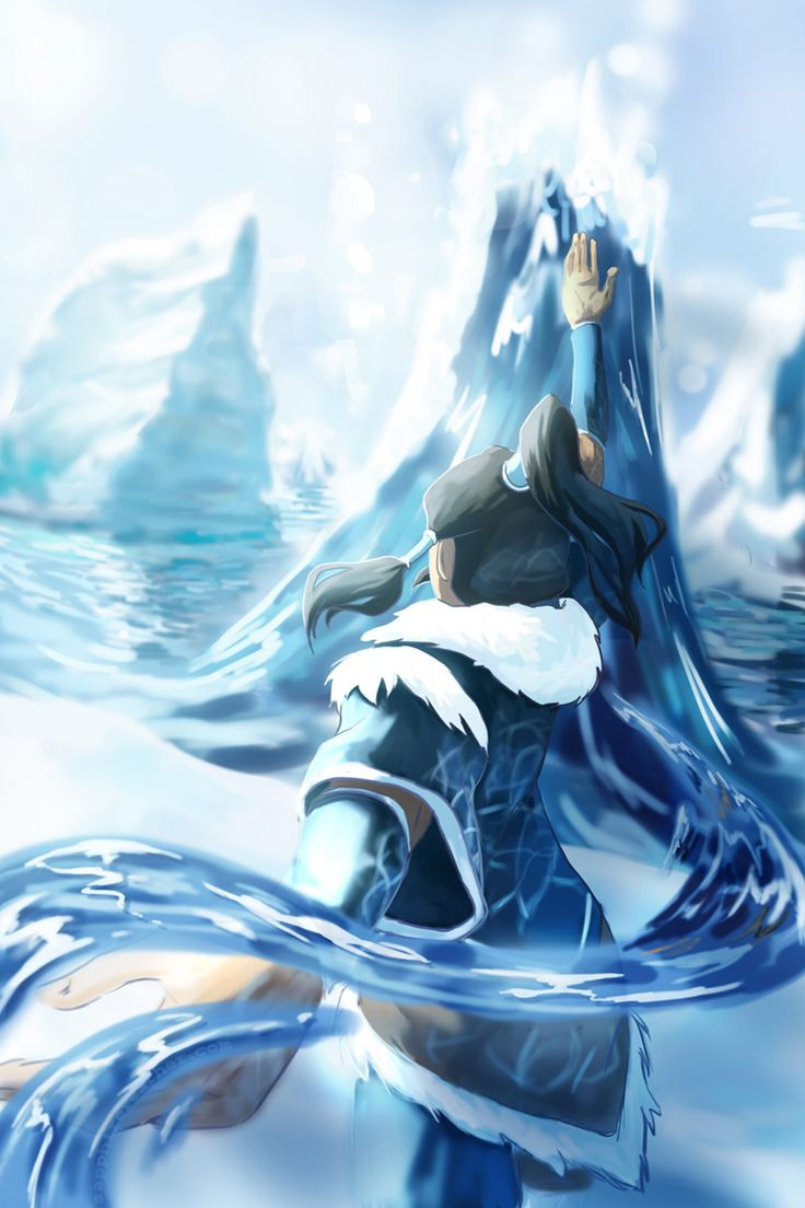 Korra: Changing Currents by *sapphire-feather on deviantART