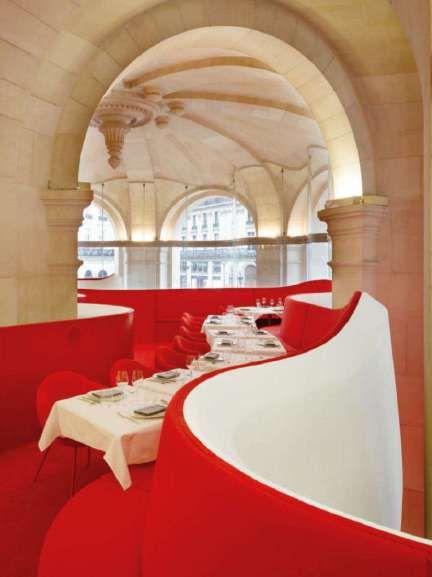 Odile Decq, L'Opera restaurant at the Paris Opera