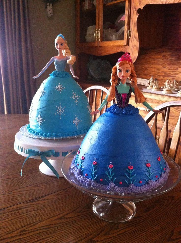 Best 25 Anna Cake Ideas On Pinterest Anna Frozen Cake