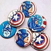 Awesome Captain America Cookies