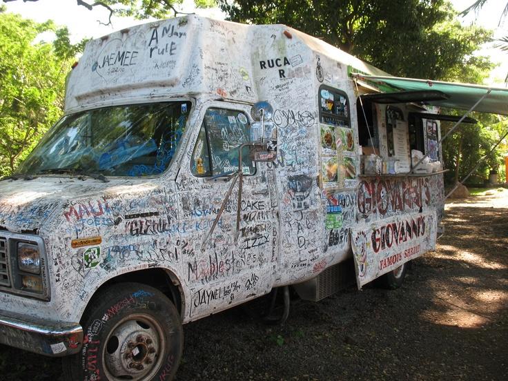 Giovanni's shrimp truck, Oahu, Hawaii