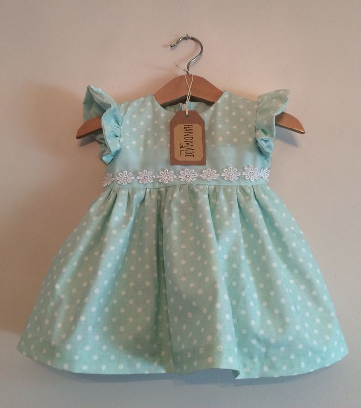 Handmade Kiddy Boutique dress available to order £19.95 x