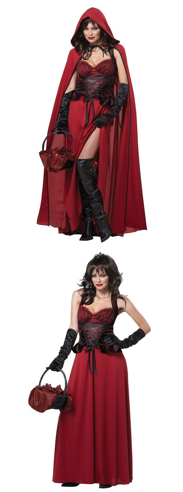 long red riding hood halloween costume for womensexy halloween costumes for girlsscary