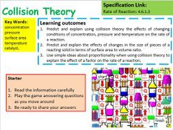 New AQA GCSE Chemistry Collision Theory Lesson by chalky1234567 - Teaching Resources - TES