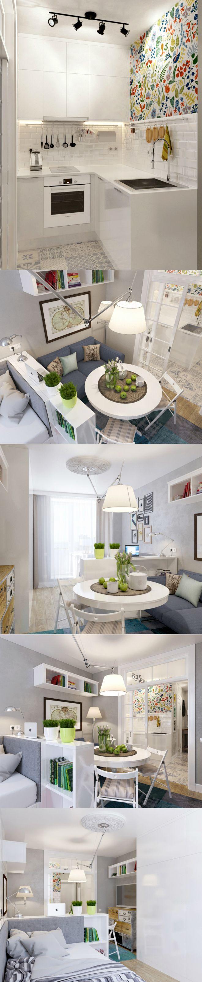 Стильное оформление маленькой квартиры — Роскошь и уют