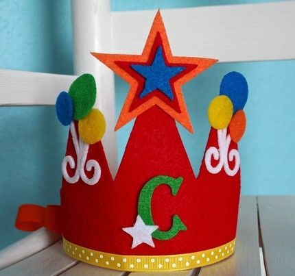 Polka Dot Birthday Supplies, Decor, Clothing: You Were Right! Birthday Crown Giveaway