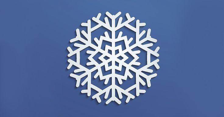Iata cum poti confectiona diverse modele de fulgi de zapada din hartie, pentru a-ti decora caminul si bradul de Craciun!