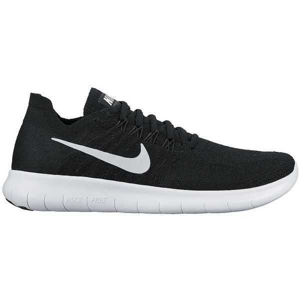 Nike Women's Free Run Flyknit found on Polyvore featuring shoes, athletic shoes, neutral, nike footwear, flyknit shoes, nike, patterned shoes and star shoes