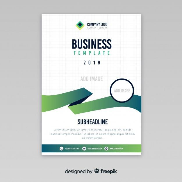Modern Business Flyer With Abstract Design Business Flyer Visiting Card Design Business Card Design Inspiration