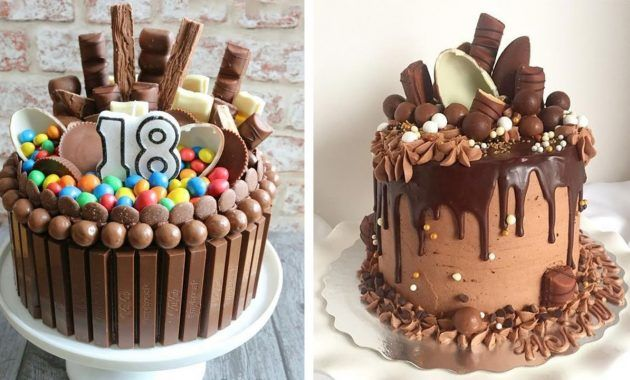 Remarkable 24 Birthday Cake Decorating Ideas Birthday Cake Chocolate Personalised Birthday Cards Arneslily Jamesorg
