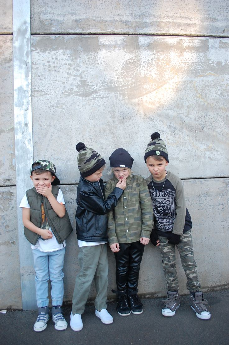 """The Braveheart Boys Code: #1 Be Bold: Pick your own style. Own it. Clothes tell a story about who you are even before you open your mouth. So while we arm our little boys with the ideas behind strong friendships, we thought it was a good idea to let them choose an outfit in """"camo"""" which is everywhere in kids clothing retail right now. So here our Braveheart Boys show you a little of who they are while """"Kicking around in Camo""""."""