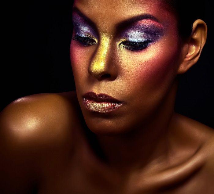 """""""Colors...""""  I  Make-up & Hair: Denitza van der Meulen I  © Ron de Wildt"""