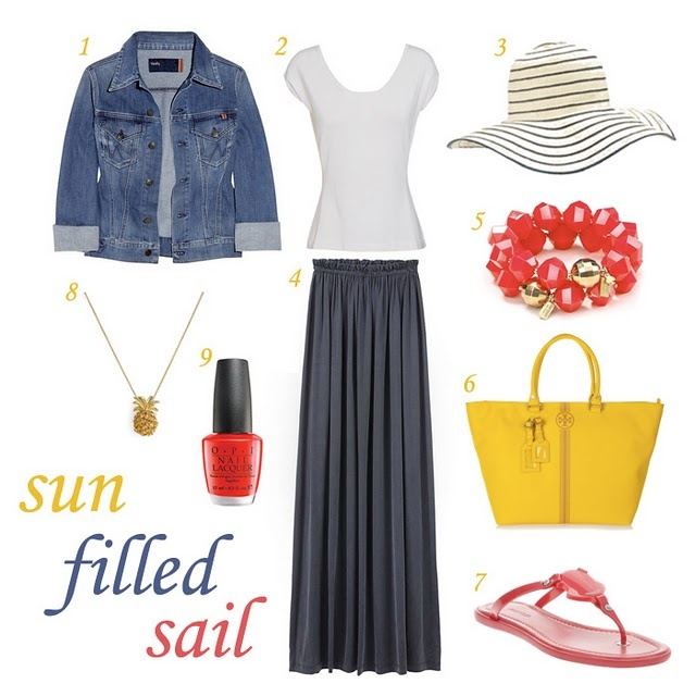 sailing outfit- Amy get yours I'll get mine:-)