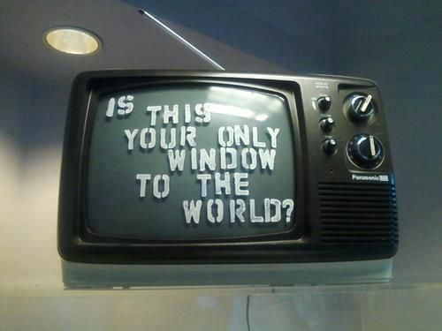 Is this your only window to the world ? | Anonymous ART of Revolution