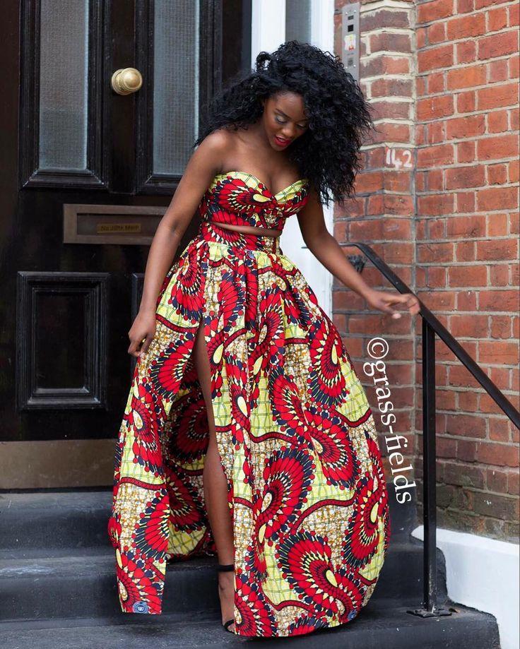 25+ Bu00e4sta African Prom Dresses Idu00e9erna Pu00e5 Pinterest