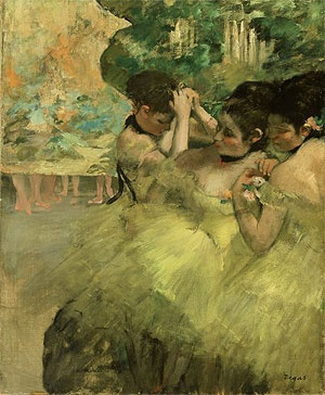 Degas. Yellow Dancers.