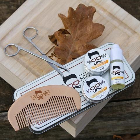 Mo Bro's Grooming Gift Set in a Aluminium Tin - 6 Pcs