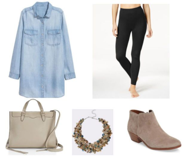 Class to Night Out: Chambray Shirt
