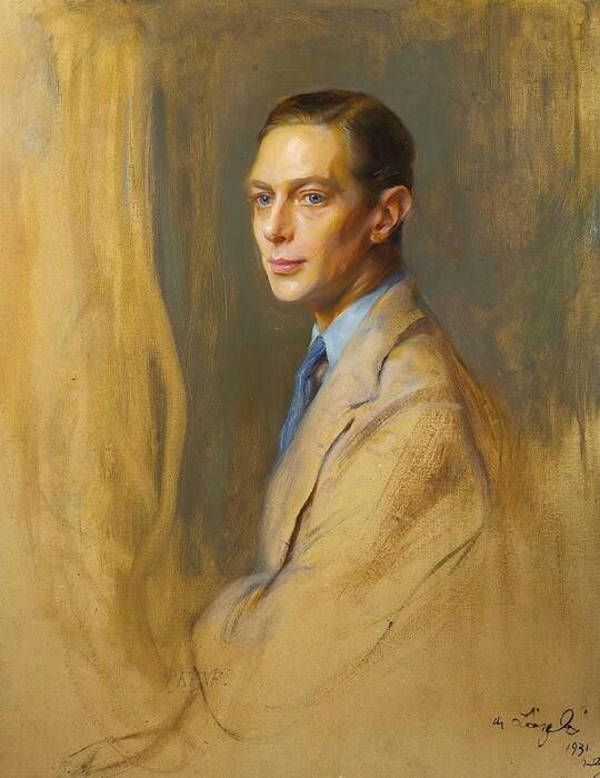 Albert, Duke of York (later King George VI., UK), 1931 by Philip Alexius de László