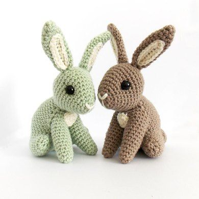 Meet Hopscotch - a little bunny who can't wait to welcome in Spring! With his perky ears and cute button tail Hopscotch will make a perfect addition to any woodland critter collection. Dress him up with a satin ribbon for a lovely Easter gift for any little boy or girl!This pattern is written in US crochet terms, with added pictures to help along the way. There are step by step photos detailing how to begin crochet, assemble the parts and finish the object.You'll need to know how to: - make…