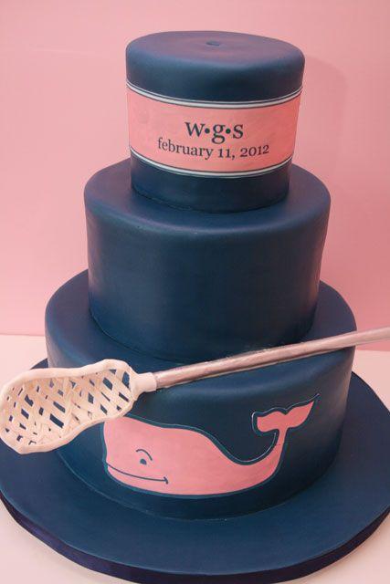 Cakes NJ Lacrosse Cake Sweet Grace DesignsSweet http://www.throwlikeagirl.com