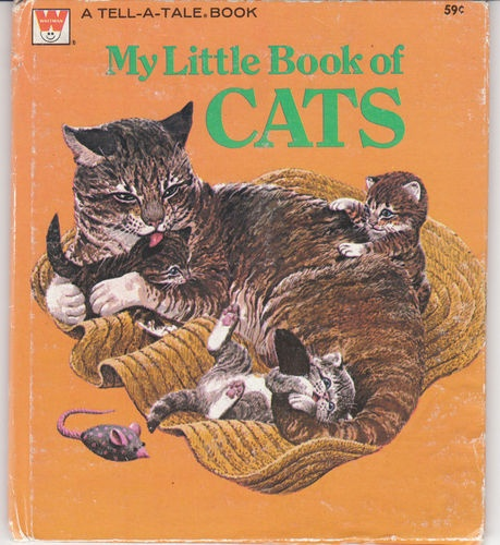 My Little Book Of Cats 1976 Whitman Tell A Tale N Gretchen Greiner Rod Ruth