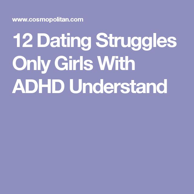 Adhd dating
