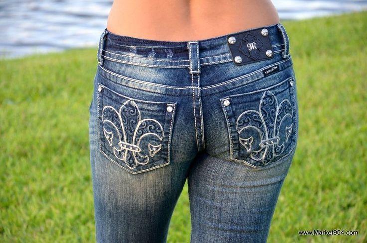 Miss Me Women's Jeans Sale! Thick Stitch Dark Blue Distressed Stretch Boot Cheap