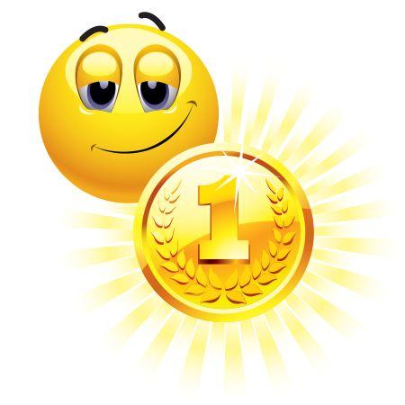 Gold Medal Emoticon