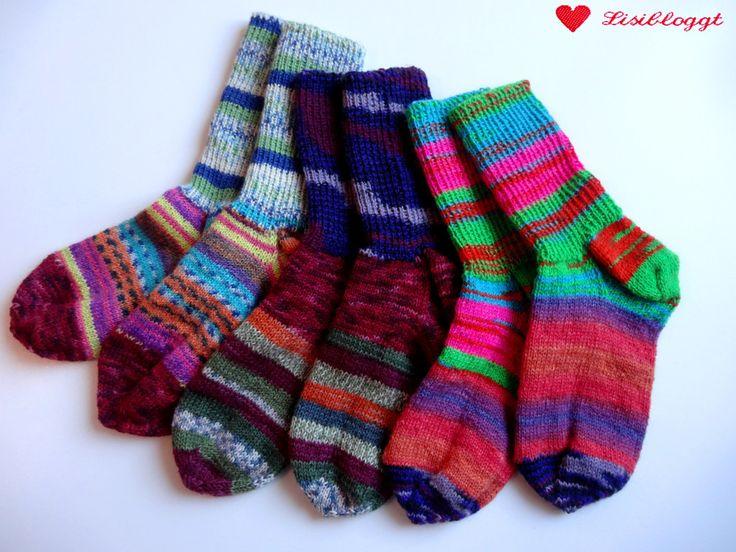 Lisitipps: Reste-Socken mit unsichtbarem Garnwechsel stricken – anke emmrich