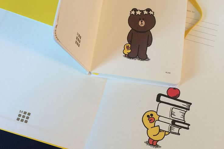 Line Friends Collection - Inside Covers