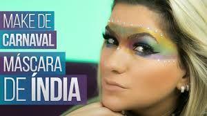Resultado de imagem para maquiagem india