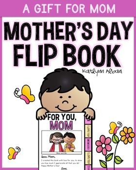 mothers day flip book - 280×350