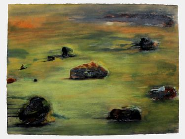 "Saatchi Art Artist Olivier Dubois-Cherrier; Painting, ""Back To Stone Age"" #art"