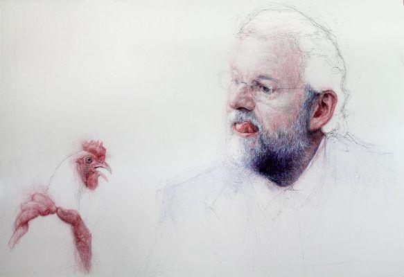 Strambotic » Un artista pinta en directo el mural 'Mariano, cómeme la polla'… y se lía parda