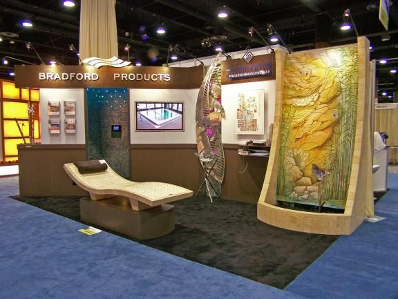 Exhibition Booth Inspiration : Best images about tradeshow booth and swag on