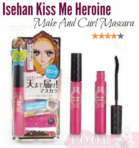 Isehan 'Kiss me Heroine' Make and Curl Mascara