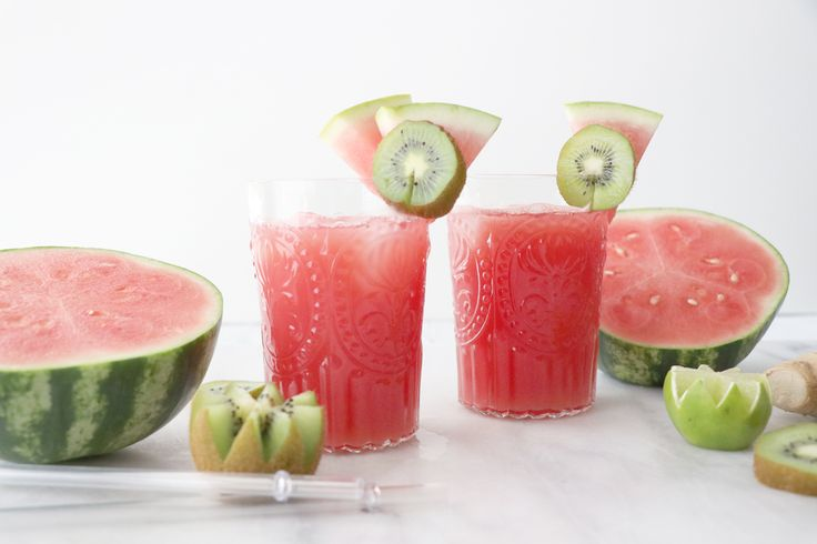 Healthy Grocery Girl | WATERMELON MOCKTAIL | Real Fruit, Plant-Based