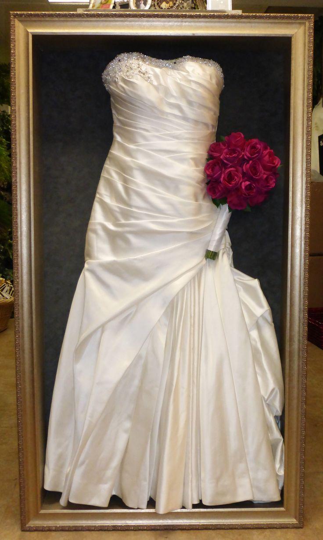 20 Best Images About Framed Wedding Dress On Pinterest