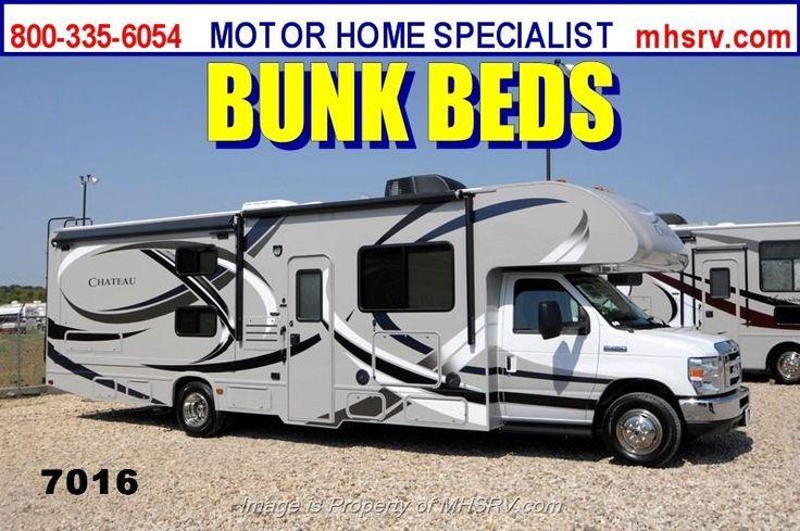 New 2014 thor motor coach chateau 31a bunk house rv w for Motor home specialist inc alvarado texas