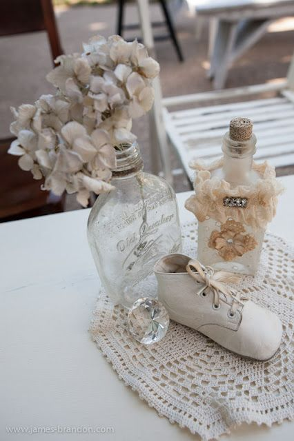 vintage baby shower | Vintage baby shower centerpiece table decorations, 426x640 in 77KB