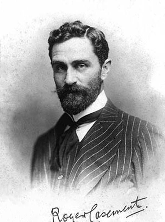 The storey of Roger Casement who tried to enlist the help of Germany before onset of WW1
