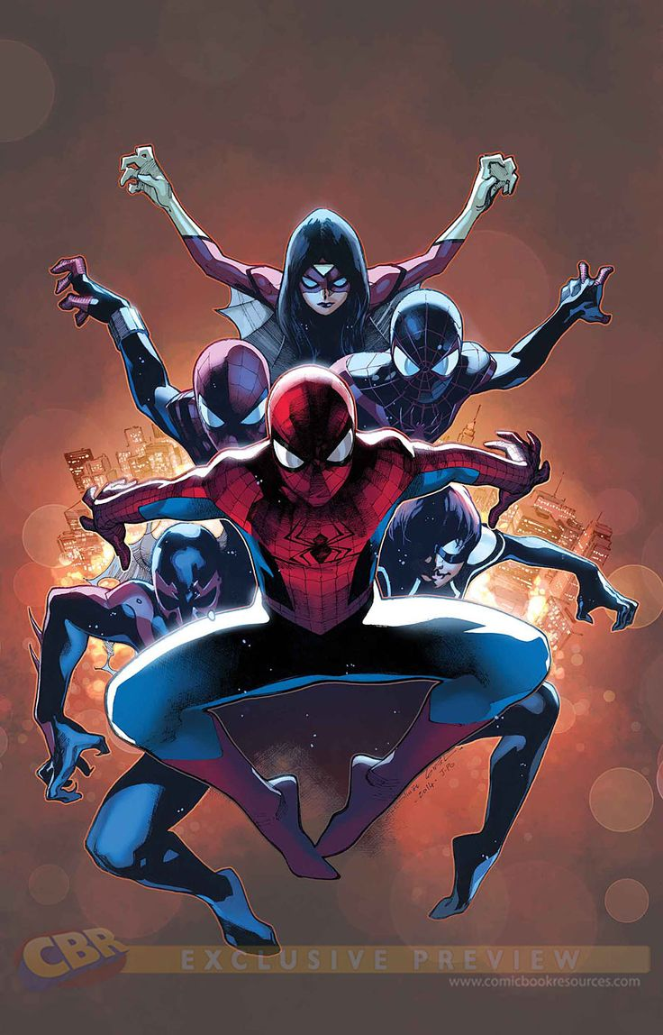 """Images for : EXCLUSIVE: Marvel's """"Spider-Verse"""" Solicitations for November 2014 - Comic Book Resources"""