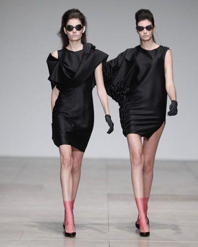 Vestidos assimétricos - Filipe Faísca