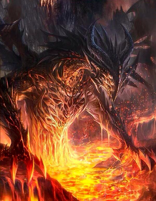 Dragon rojo legend of the cryptids