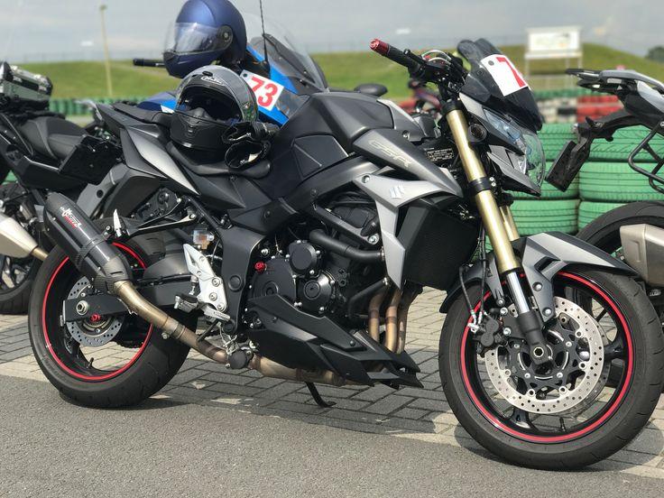 Suzuki GSR 750 @ Assen Circuit Netherlands