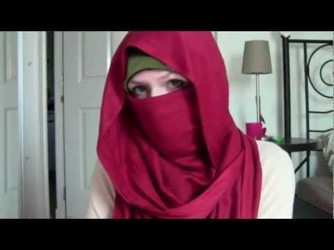 Niqab Tutorial: Desert Rose - YouTube