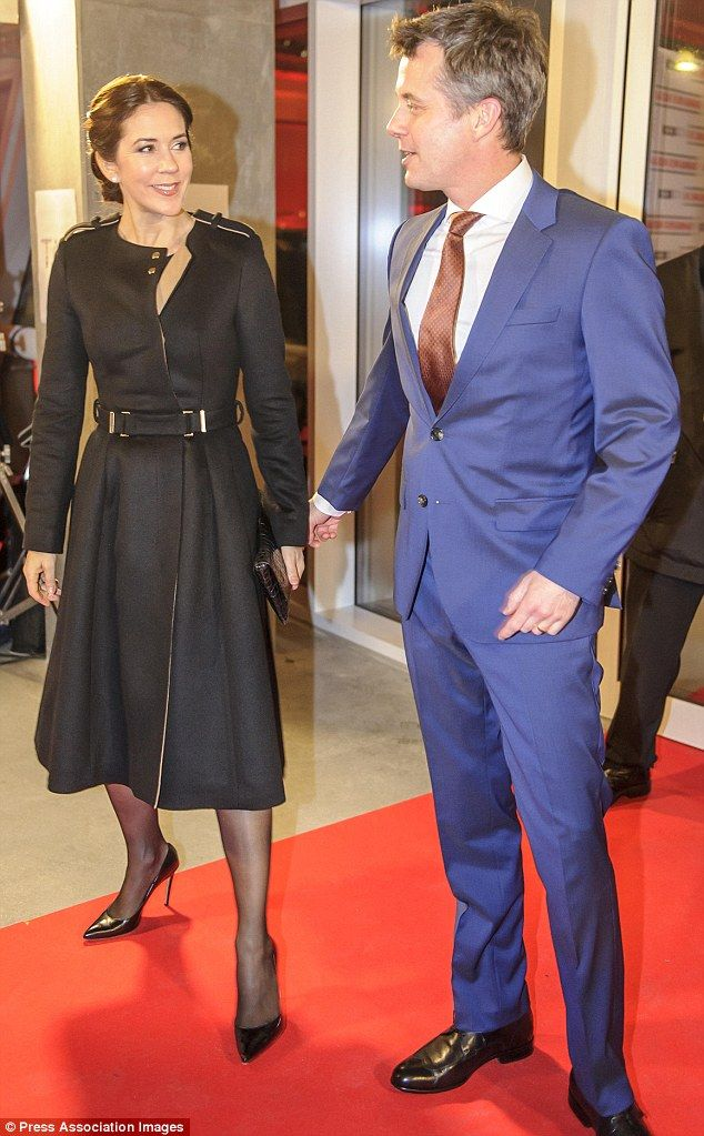 Crown Princess Mary and Crown Prince Frederik attended Indsamling 2015, Denmark's biggest fundraising event, January 31, 2015