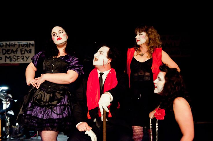 Low-Dive Jenny, Mac the Knife, and the whores - 'The Threepenny Opera' by Bertolt Brecht, produced by Felt Tip Theatre Company