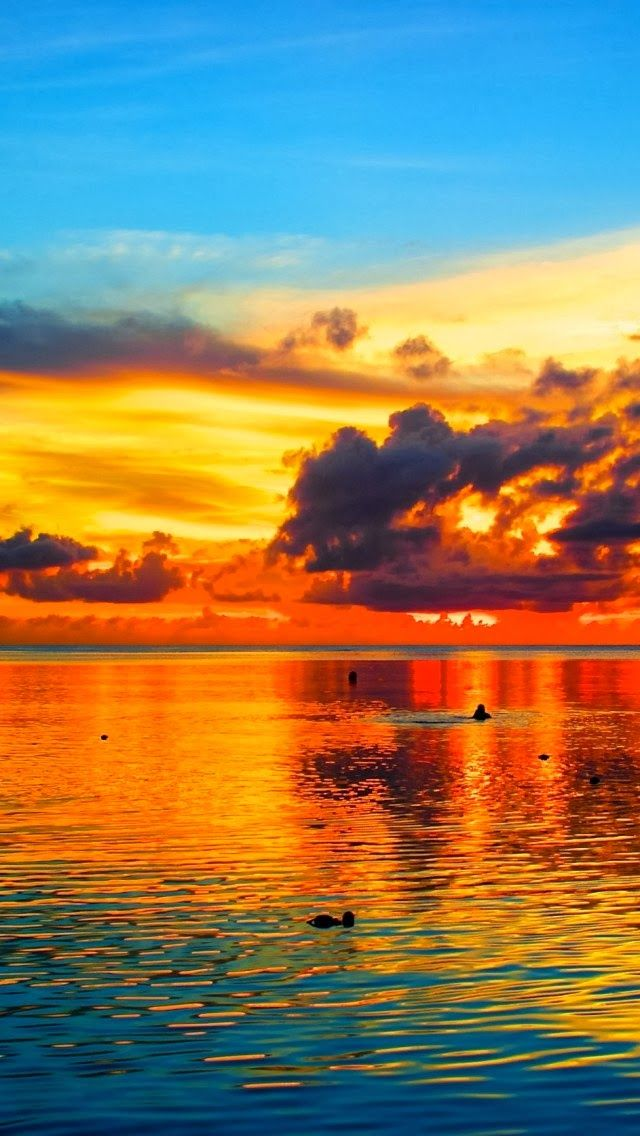 Sunset Over The World - Sunset over Guam, Pacific Ocean